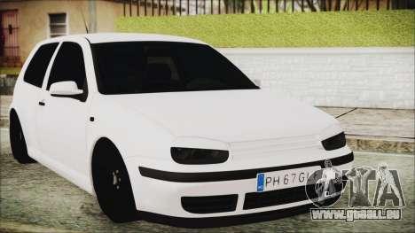 Volkswagen Golf 4 Romanian Edition pour GTA San Andreas