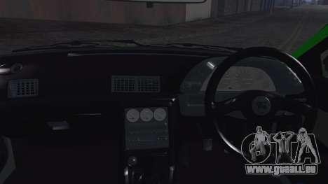 Nissan Skyline R32 Rocket Bunny pour GTA San Andreas vue intérieure