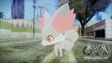 Fennekin Shiny (Pokemon XY) für GTA San Andreas zweiten Screenshot