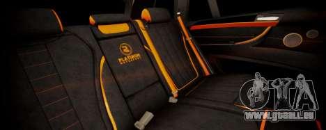 BMW X5M SMOTRA.GT pour GTA San Andreas vue arrière