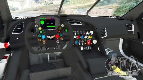 GTA 5 Chevrolet Corvette C7R hinten rechts
