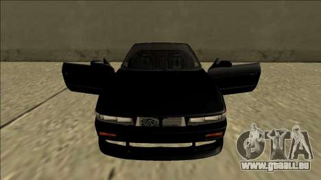 Nissan Silvia S13 pour GTA San Andreas vue de dessus
