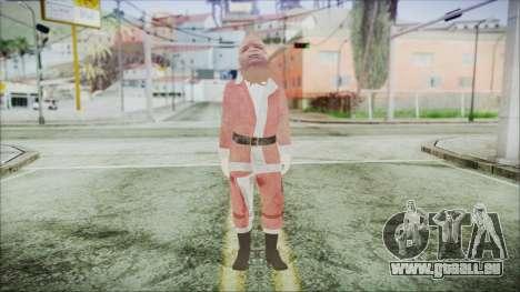 GTA 5 Santa afro-Américaine pour GTA San Andreas deuxième écran
