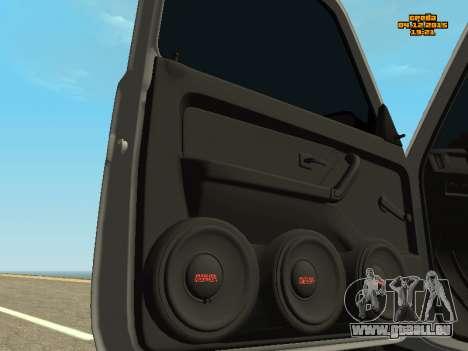 VAZ 2123 Niva automatique du Son pour GTA San Andreas vue arrière