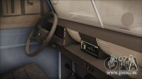 Land Rover Series 3 Off-Road pour GTA San Andreas vue de droite
