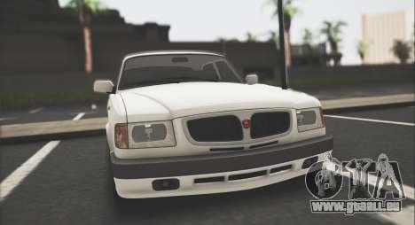 GAZ 3110 Stoke pour GTA San Andreas laissé vue