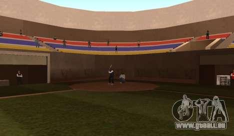 Baseball pour GTA San Andreas troisième écran
