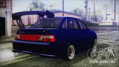 VAZ 2110 Sport pour GTA San Andreas laissé vue