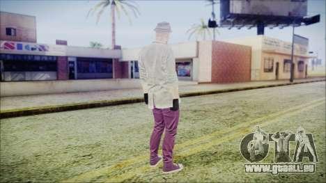 GTA Online Skin 7 pour GTA San Andreas troisième écran