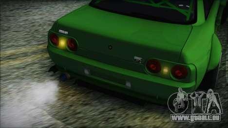 Nissan Skyline R32 Rocket Bunny pour GTA San Andreas vue arrière