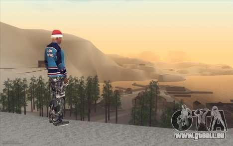 Winter Vacation 2.0 SA-MP Edition für GTA San Andreas