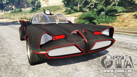 Batmobile 1966 [Beta] für GTA 5