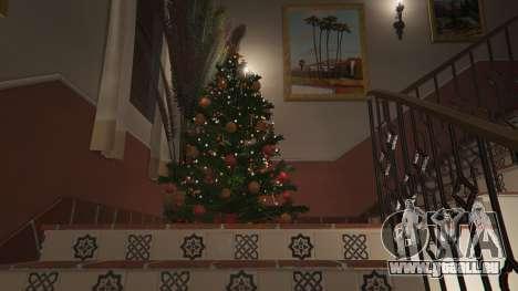 GTA 5 Décorations de noël pour la maison Michael quatrième capture d'écran