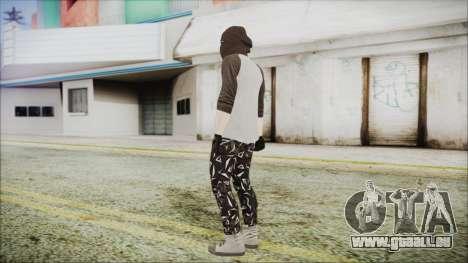 GTA Online Skin 8 pour GTA San Andreas troisième écran