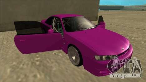 Nissan Silvia S14 Drift pour GTA San Andreas moteur