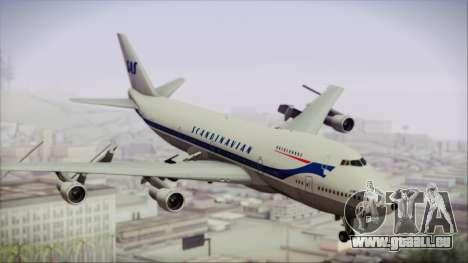 Boeing 747-283BM Scandinavian Airlines für GTA San Andreas