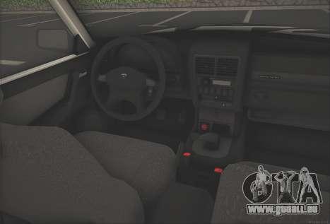 GAZ 3110 Stoke pour GTA San Andreas vue de droite