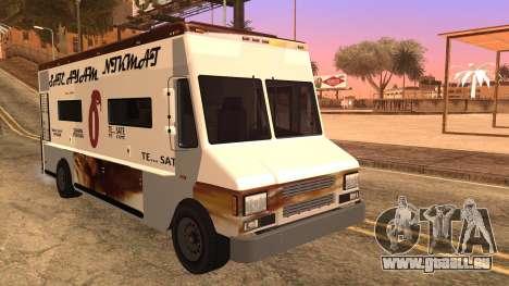 Sate Ayam (Chicken Satay) Van für GTA San Andreas