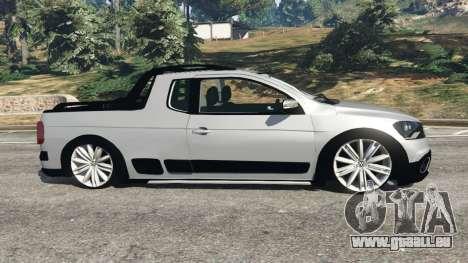GTA 5 Volkswagen Saveiro G6 Cross vue latérale gauche
