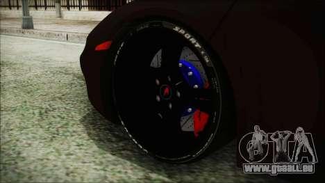 McLaren MP4 12C 2011 für GTA San Andreas zurück linke Ansicht