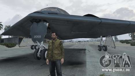GTA 5 B-2A Spirit Stealth Bomber huitième capture d'écran