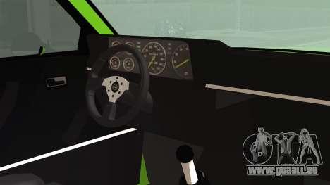 Opel Manta New Kids HQ pour GTA San Andreas vue de droite