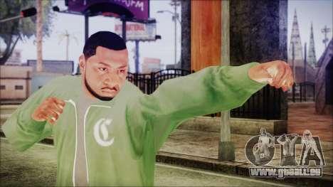 GTA 5 Grove Gang Member 1 pour GTA San Andreas