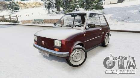 GTA 5 Fiat 126p v1.2 droite vue latérale