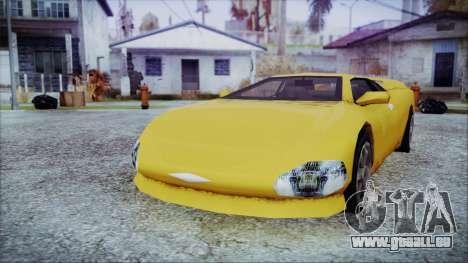 Gangsta Infernus pour GTA San Andreas