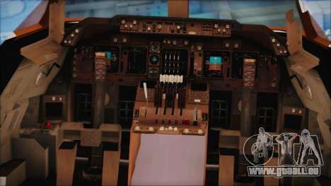 Boeing 747-237Bs Air India Himalaya für GTA San Andreas Rückansicht
