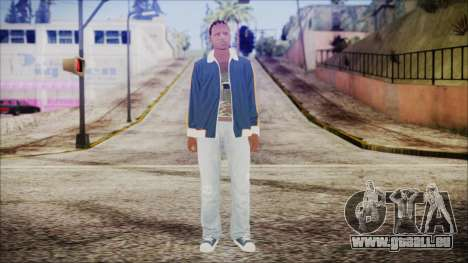 GTA Online Skin 12 pour GTA San Andreas deuxième écran