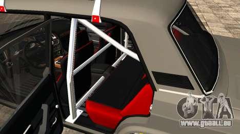 VAZ 2107 JDM pour GTA San Andreas vue arrière