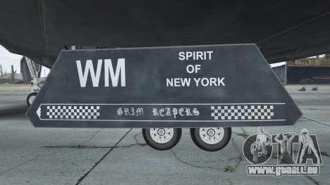 GTA 5 B-2A Spirit Stealth Bomber septième capture d'écran
