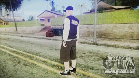 Skin DLC LowRider 1 pour GTA San Andreas troisième écran
