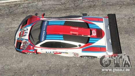 McLaren F1 GTR Longtail [Martini Racing] pour GTA 5
