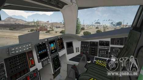 GTA 5 B-2A Spirit Stealth Bomber sixième capture d'écran