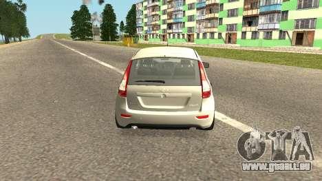 Lada Kalina 2 - Granta pour GTA San Andreas laissé vue