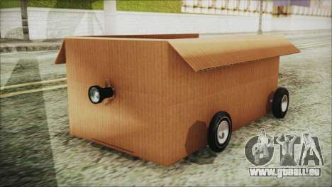 Kart-Box für GTA San Andreas