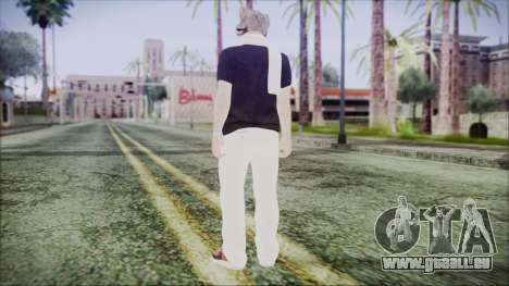 GTA Online Skin 35 pour GTA San Andreas troisième écran