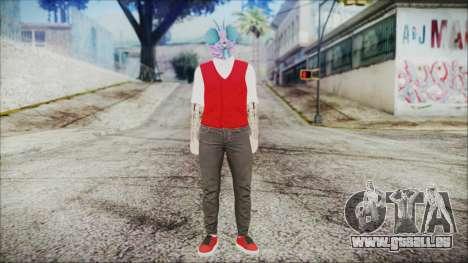 GTA Online Skin 22 pour GTA San Andreas deuxième écran