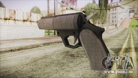 GTA 5 Flare Gun - Misterix 4 Weapons für GTA San Andreas zweiten Screenshot