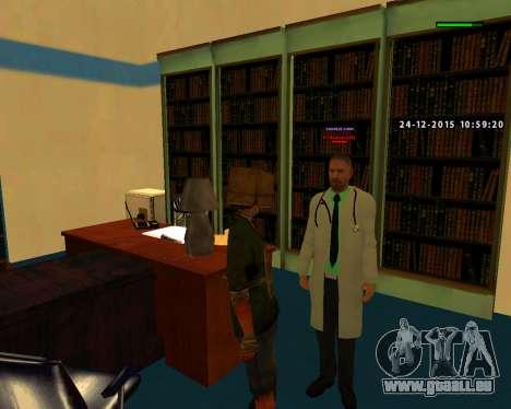 Gute Qualität bauen skins MES für GTA San Andreas dritten Screenshot