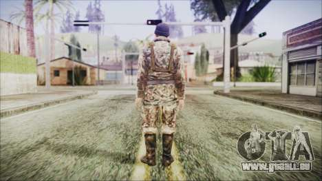 World In Conflict Malashenko Winter für GTA San Andreas dritten Screenshot