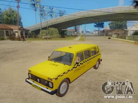VAZ 2131 7-Porte de Taxi pour GTA San Andreas