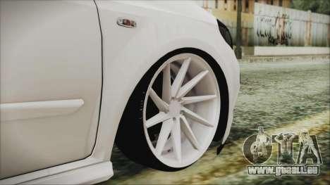 Fiat Punto für GTA San Andreas zurück linke Ansicht
