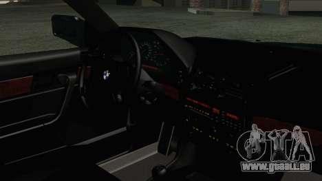 BMW 525i E34 1992 pour GTA San Andreas vue de droite