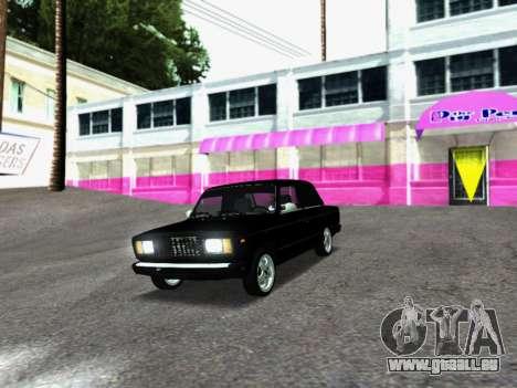 VAZ 2107-107 pour GTA San Andreas