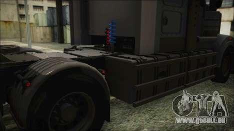 Kenworth T908 v1.0 für GTA San Andreas Rückansicht