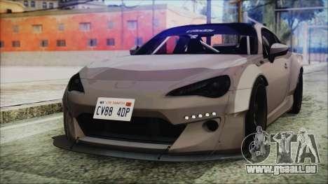 Toyota GT86 Rocket Bunny Tunable IVF für GTA San Andreas