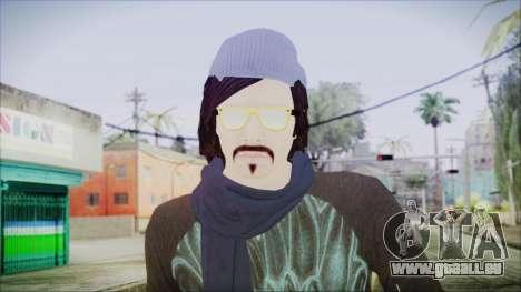 GTA Online Skin 18 pour GTA San Andreas